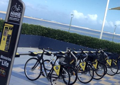 Bike stations